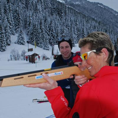 Biathlon and shooting