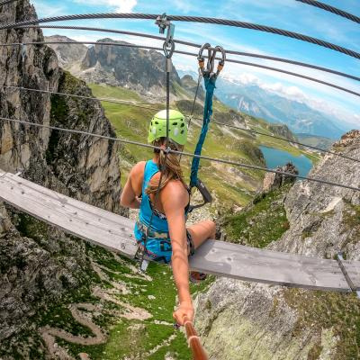 Via Ferrata - à partir du 30 mai (*selon le village)