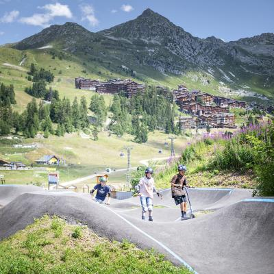 Pumptrack Bellecôte - 1 juin au 31 octobre