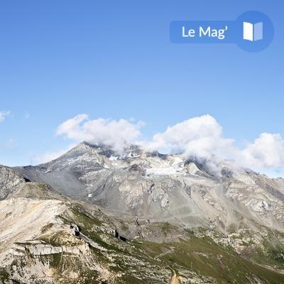 The La Plagne glacier, the high point of your holiday