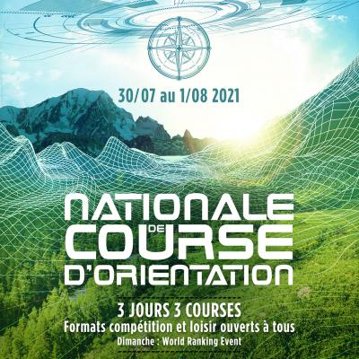 National orienteering competition | 30 july - 1er august 2021