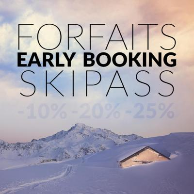 Early booking ski passes