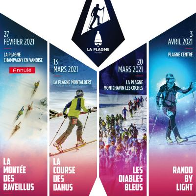 La Plagne Rando Challenge | february/march/april 2021