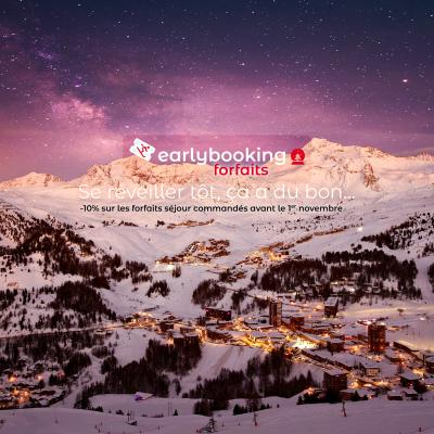 Benefit from the Early Booking offer