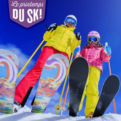 Printemps du ski - Welcome to beginners | march 21st - april 4th