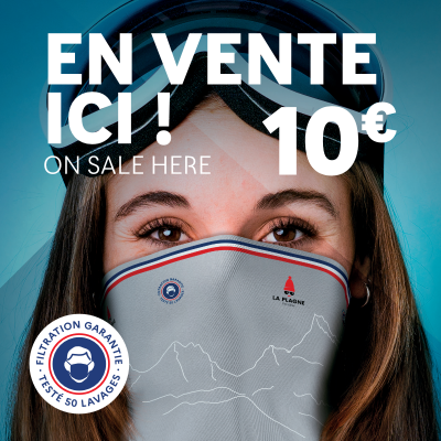 Your La Plagne neck warmer