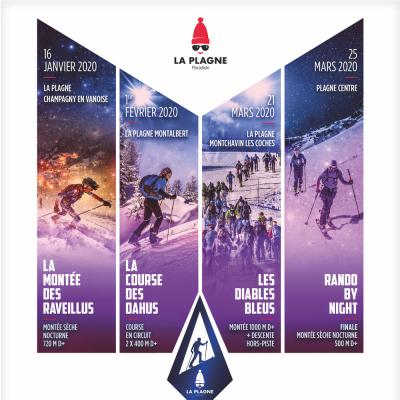 La Plagne Rando Challenge | 16 jan - 25 march 2020
